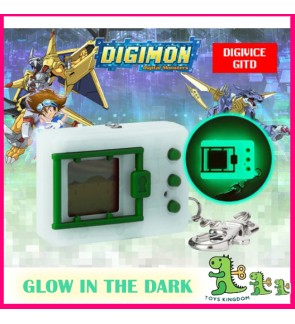 Ready Stock Bandai Digimon Glow in the Dark Digivice Vpet Virtual Pet Monster 20th Anniversary English Version