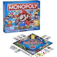 Hasbro Monopoly Super Mario Celebration Original Set Family Fun Boardgame