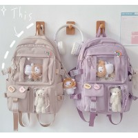 TonyaMall Freestyle Multicompartment Backpack Bag Ulzzang School Bag