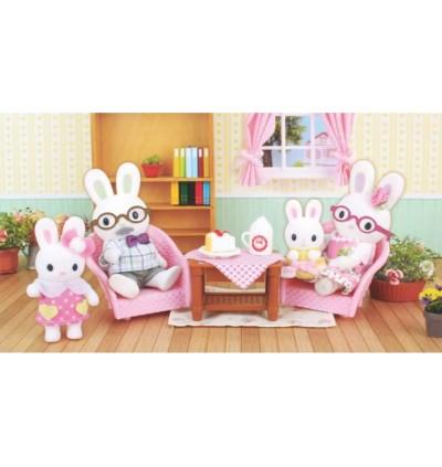Original Korea Konggi Rabbit Grand Parents Playset 4 Dolls Set