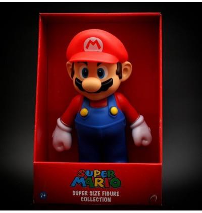 23cm Super Mario and Friends Figure Luigi Toad Yoshi Mario Super Size Tall Premium Collectible Figures