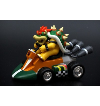 Super Mario Kart Competition Pull back Cars Toys Luigi Princess Toad Yoshi Collectible Figures