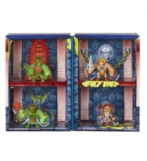 Mattel Masters of the Universe Eternia Minis Multipack 3-in, Set of 4 MOTU Characters