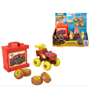 Mattel Nickelodeon Blaze And The Monster Machines Tune Up Tires Blaze (FHV37)