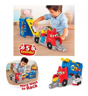 Fisher Price Mega Bloks Build & Race Rig Toys For Children and Infant