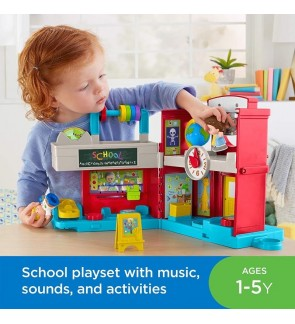 Fisher Price Little People Friendly School Mattel Original