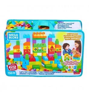 Mattel Mega Bloks 150 Pieces Let's Get Learning Themed Playset