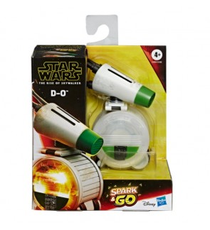 Hasbro Star Wars Spark and Go D-O Rolling Droid Rev-and-Go Toy