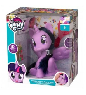 Hasbro My Little Pony Twilight Sparkle Styling Head With 15 Accessories