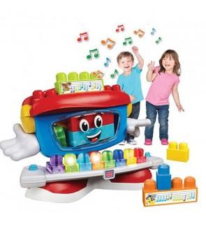 Mega Bloks Billy Beat Dancing Piano Fun Blocks Toys With Music and Lights