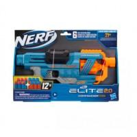 Hasbro NERF Elite 2.0 Commander RD-6 Blaster, 12 Official Darts