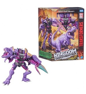 Transformers Generations War for Cybertron: Kingdom Leader WFC-K10 Megatron (Beast) Action Figure 19cm