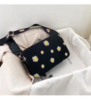 TonyaMall Flowery Ladies Small Sling Bag