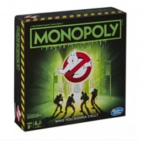 Hasbro Monopoly Game: Ghostbusters Edition Monopoly Board Game for Kids Ages 8 and Up