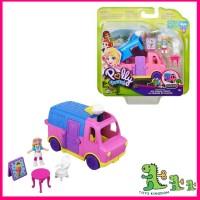 Mattel Polly Pocket Pollyville Ice Cream Van
