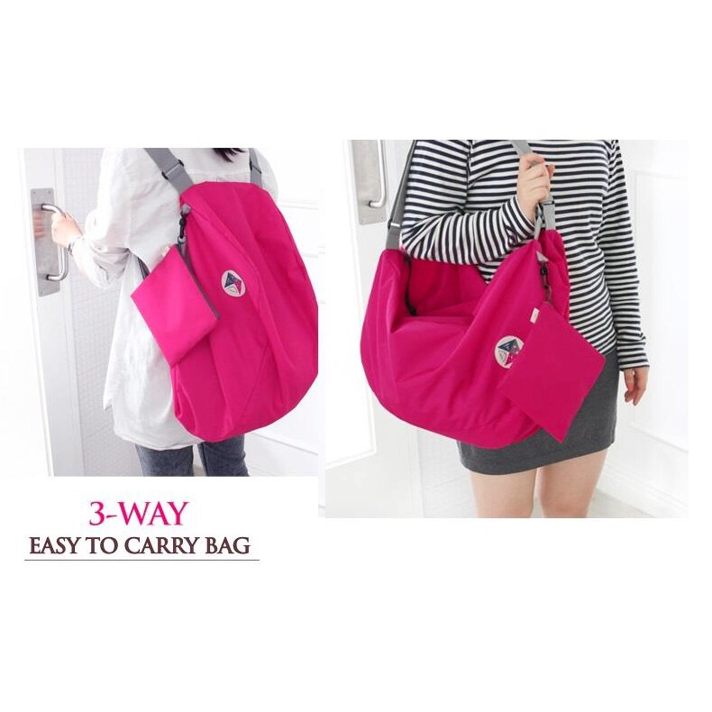 3 ways easy to carry bag