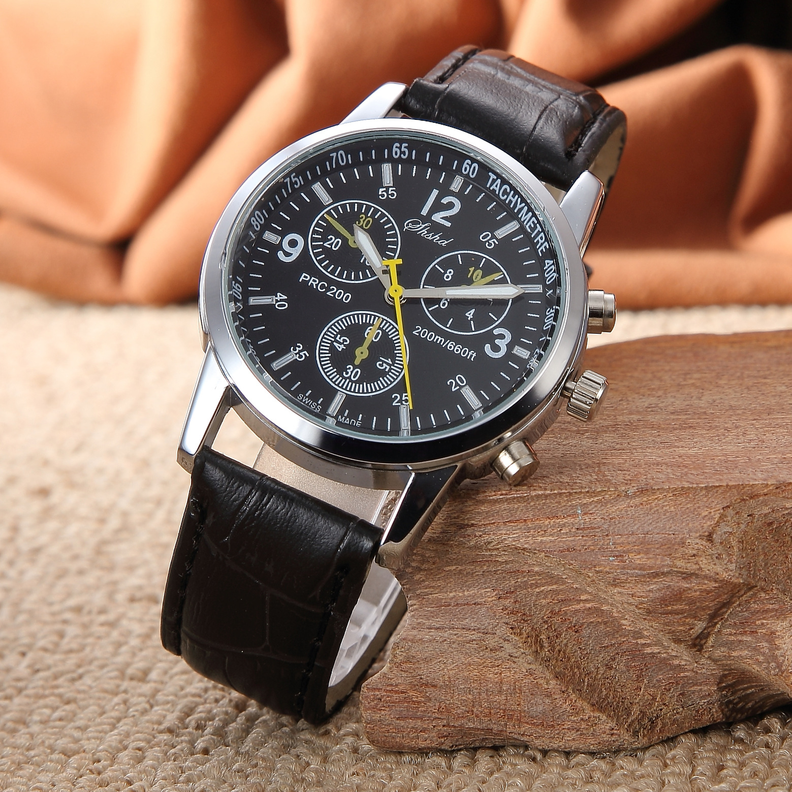 Latest Version Men Leather Watch
