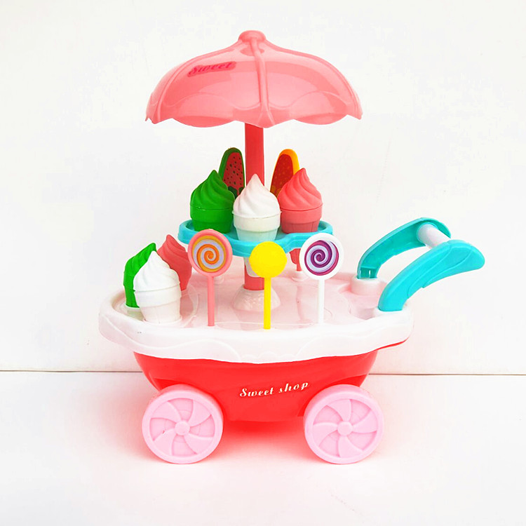 Kids Toy Ice Cream Cart