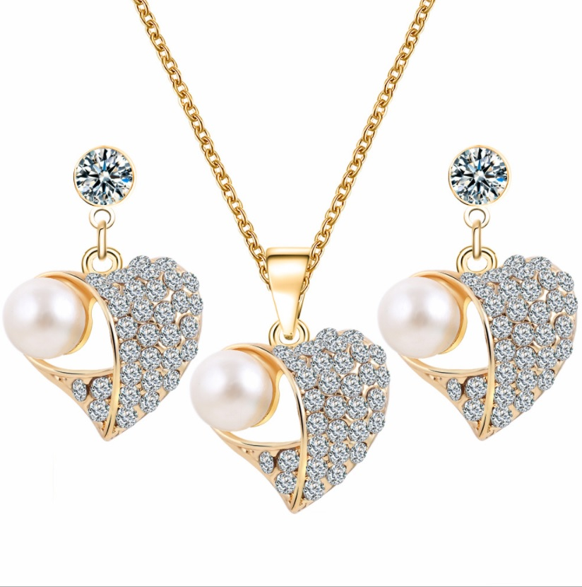 Rachelle & Co Crystal Necklace and Earring Set (D3)