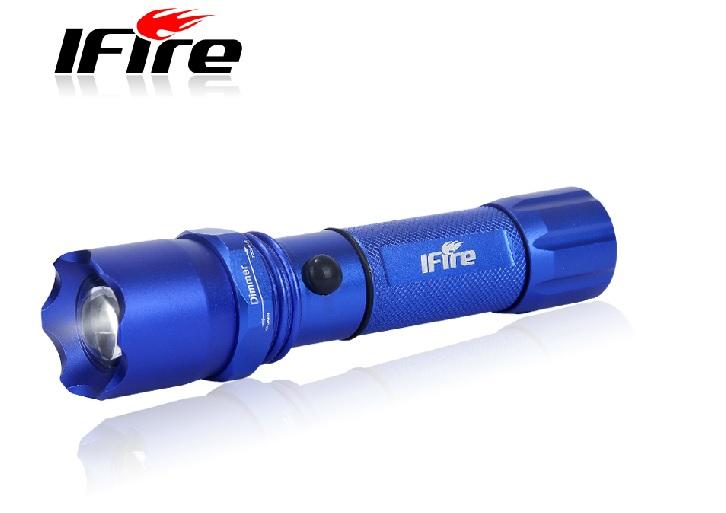 UltraBright LED Torchlight Long Range Rechargeable Battery