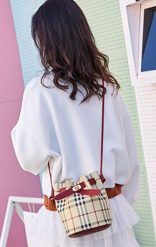 Ladies Mini Bucket Sling Bag